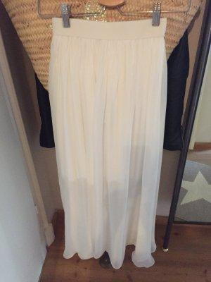 ROAD Silk Skirt white