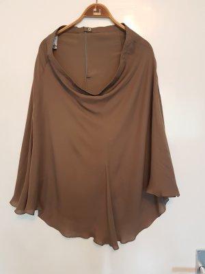 Armani Collezioni Falda taupe-marrón grisáceo