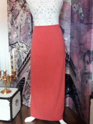 Fabiani Silk Skirt dark orange