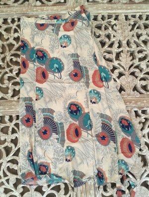 Zara Silk Skirt multicolored silk