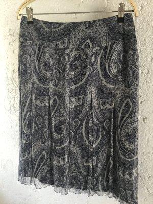 Seidenrock mit Paisleymuster von St.Emile