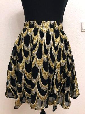 Gestuz Silk Skirt multicolored silk
