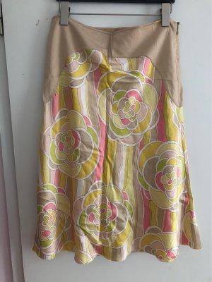 Schumacher Silk Skirt multicolored