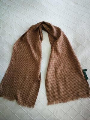 Zijden sjaal camel-roodbruin