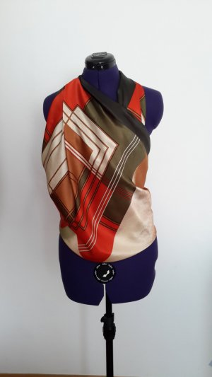 Silk Scarf multicolored silk