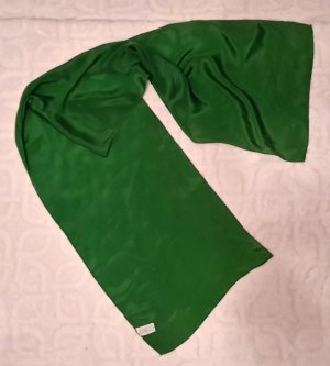 Silk Scarf green silk