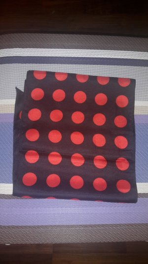 Hallhuber Silk Scarf red