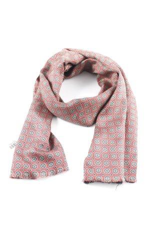 Zijden sjaal abstract patroon casual uitstraling
