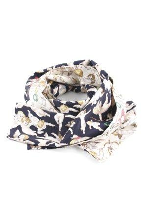Zijden sjaal volledige print elegant