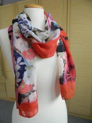 Galliano Silk Cloth multicolored silk