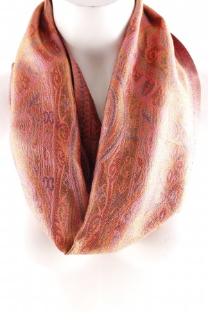 Bufanda de seda estampado floral elegante