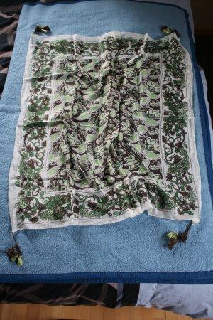 Zero Zijden sjaal veelkleurig Zijde