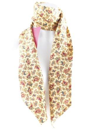 Bufanda de seda estampado con diseño de cachemira estilo «business»