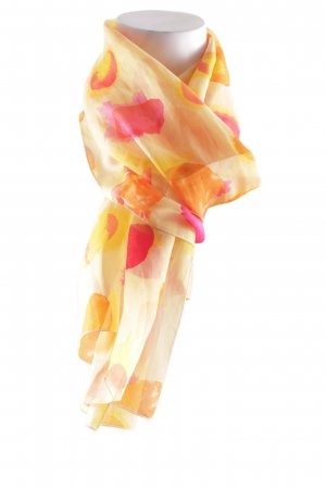 Sciarpa di seta motivo a pallini elegante