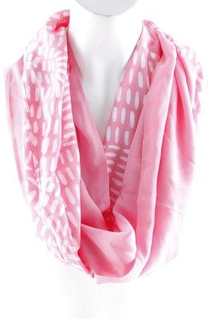 Silk Scarf pink batik pattern classic style