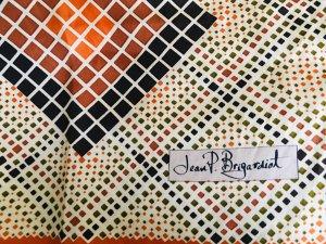 Vintage Pañuelo de seda multicolor