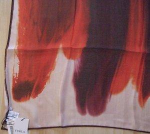 Seidenschal von FURLA rot orange - NEU