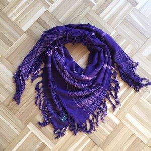 Isabel Marant Châle violet foncé-vieux rose