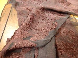 Joop! Zijden sjaal bruin Zijde
