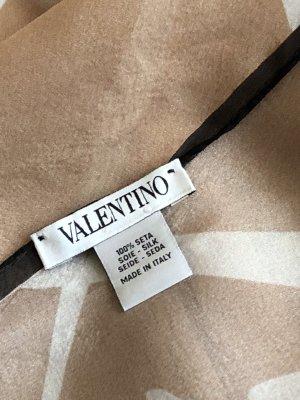 Valentino Zijden doek veelkleurig Zijde