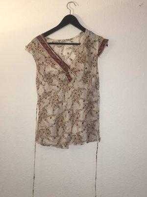 Shirt Tunic multicolored silk