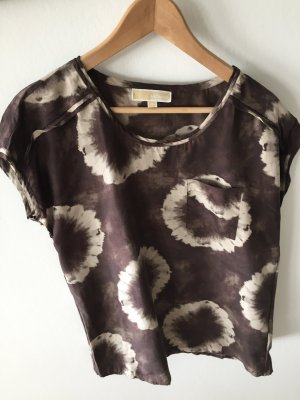 Michael Kors Batik Shirt cream-grey brown
