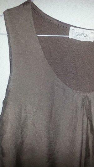 Seidenshirt mit Baumwolle CARTOON nudefarben Gr. 36