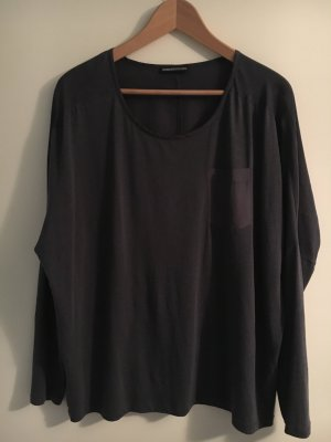 Drykorn Top extra-large gris anthracite