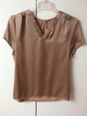V-Neck Shirt beige