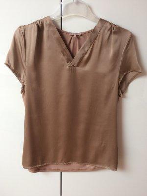 V-hals shirt beige