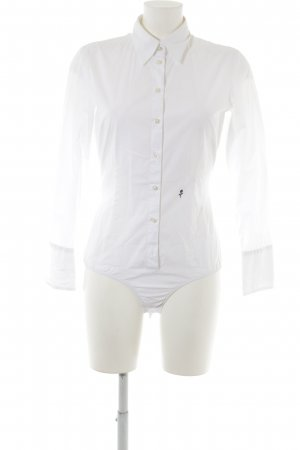 Seidensticker Bodysuit Blouse white-black business style