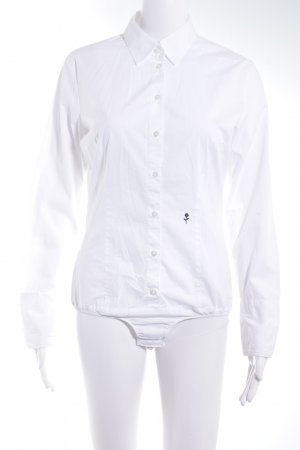 Seidensticker Blusa tipo body blanco-blanco puro estilo «business»