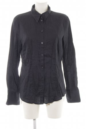 Seidensticker Hemd-Bluse dunkelblau Casual-Look