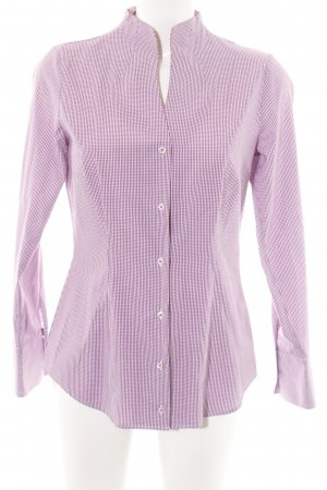 Seidensticker Hemd-Bluse rot-weiß Karomuster Business-Look