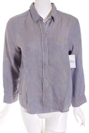 Seidensticker Hemd-Bluse graublau meliert Business-Look