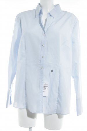 Seidensticker Hemd-Bluse hellblau Business-Look