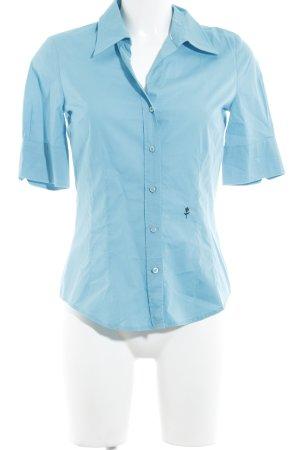 Seidensticker Hemd-Bluse hellblau Casual-Look