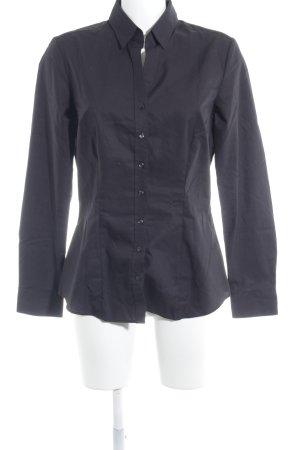 Seidensticker Hemd-Bluse schwarz Business-Look