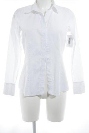 Seidensticker Camicia blusa bianco stile professionale