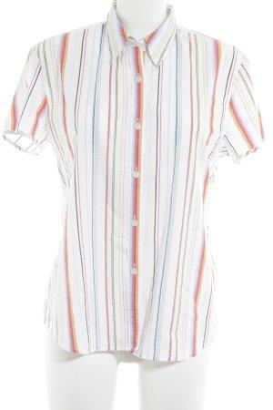 Seidensticker Kurzarm-Bluse mehrfarbig Business-Look