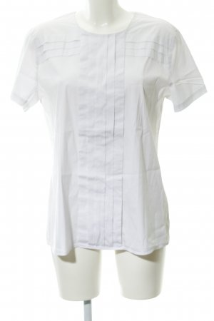 Seidensticker Kurzarm-Bluse weiß Elegant