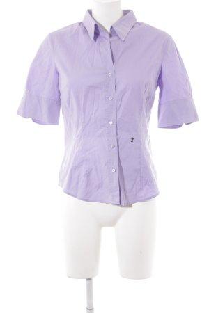 Seidensticker Camicia a maniche corte lilla-viola stile casual