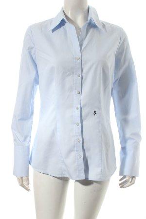 Seidensticker Langarm-Bluse babyblau klassischer Stil
