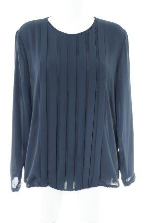 Seidensticker Langarm-Bluse dunkelblau Casual-Look