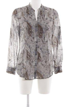 Seidensticker Langarm-Bluse florales Muster klassischer Stil