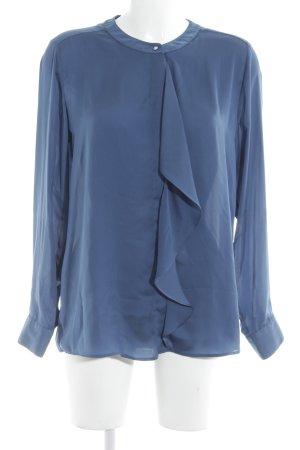 Seidensticker Langarm-Bluse kornblumenblau Elegant