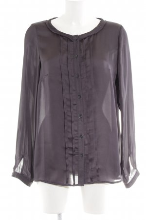 Seidensticker Langarm-Bluse lila Casual-Look