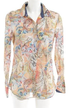 Seidensticker Langarmhemd abstraktes Muster Casual-Look