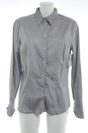 Seidensticker Langarmhemd grau Business-Look