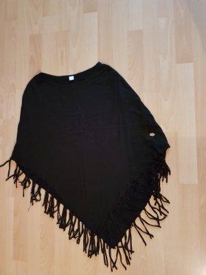 Seidensticker Poncho, schwarz